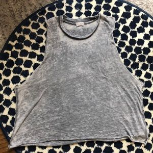 Brandy Melville Grey size small muscle tee